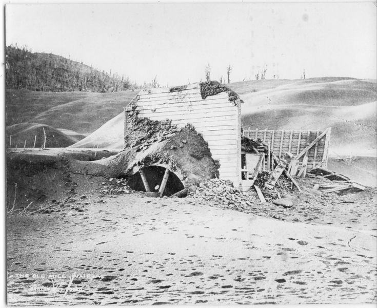 Wairoa Mill after the eruption
