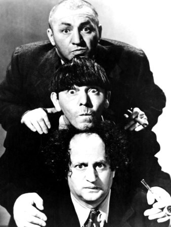 "3 stooges ""Oh, wise guy eh.........."" yep every single one of them."