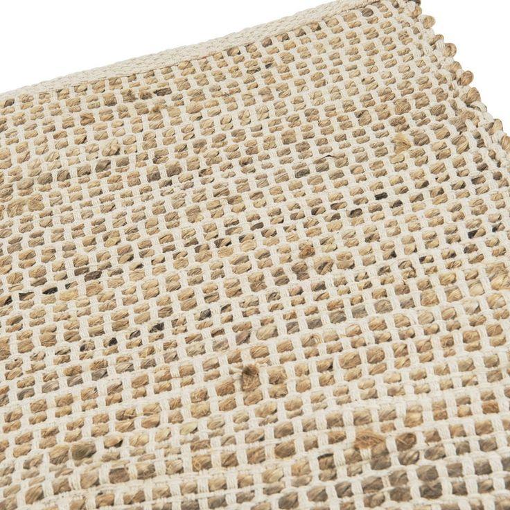 Vloerkleed jute - 120x180 cm - beige | Xenos