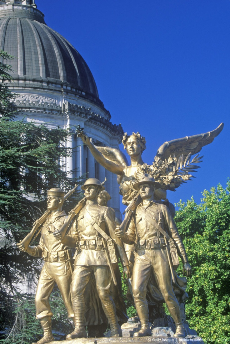 State Capitol of Washington, Olympia. I worked here one summer during college.  A fabulous experience!