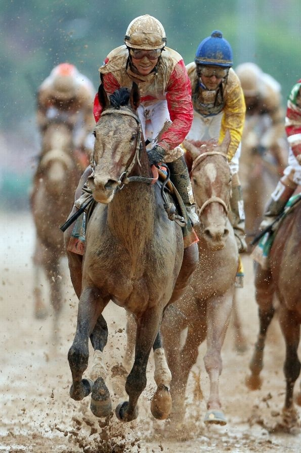 ESPN Photo Wire - Orb winning the Derby. Do we have a triple crown horse?