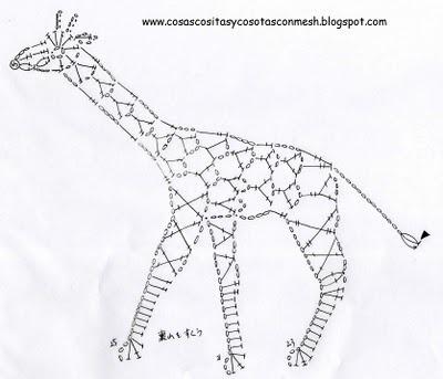 Il blog di Vera Maglia: giraffa uncinetto