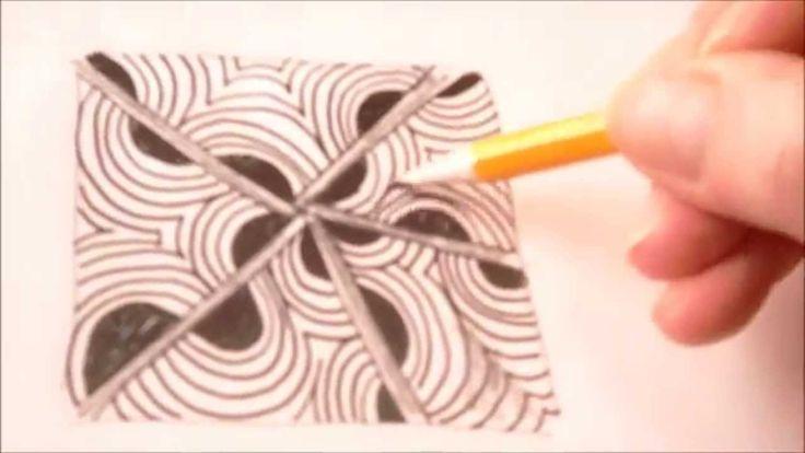 How to draw tanglepattern Ixorus