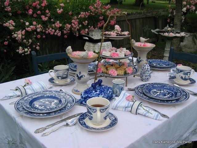 tea table settings tables - photo #31