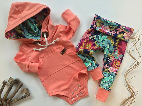Baby HOODZIE set baby sweatshirt gender neutral hoodie