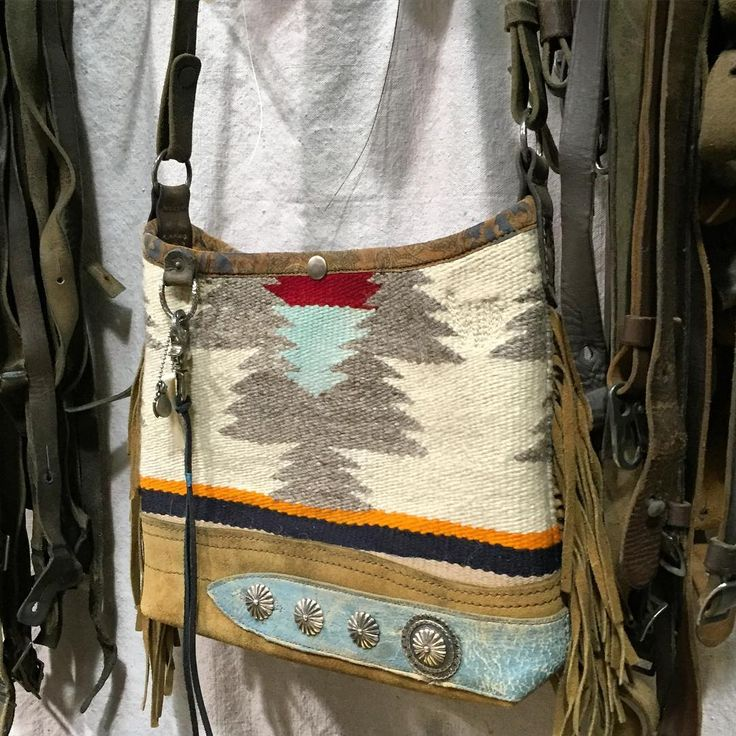 Fringed mini Navajo bucket for @first_arrows.official