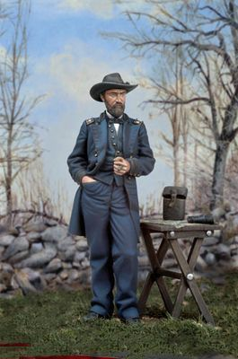 Lieutenant General Ulysses S. Grant, Commander, Union Armies of the United States, ca. 1864.