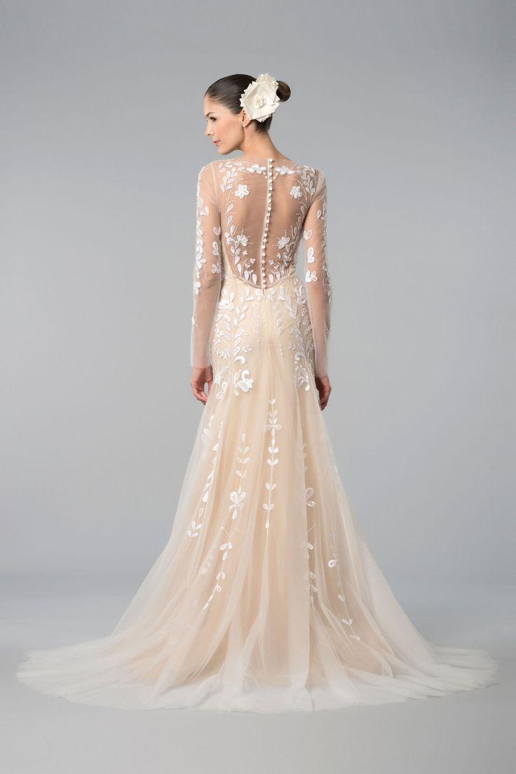 Blush Wedding Dresses with Sleeves – fashion dresses