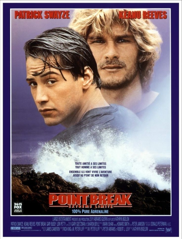 Point Break, extrême limite - Kathryn Bigelow - SensCritique
