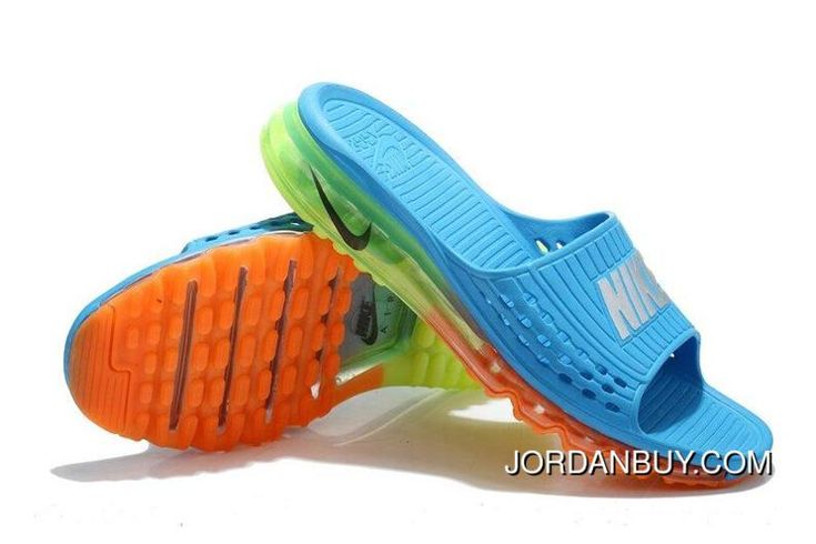 http://www.jordanbuy.com/stylish-2016-nike-air-max-outdoor-slippers-mens-flip-flop-sky-blue-green-orange-clearance.html STYLISH 2016 NIKE AIR MAX OUTDOOR SLIPPERS MENS FLIP FLOP SKY BLUE GREEN ORANGE CLEARANCE Only $85.00 , Free Shipping!