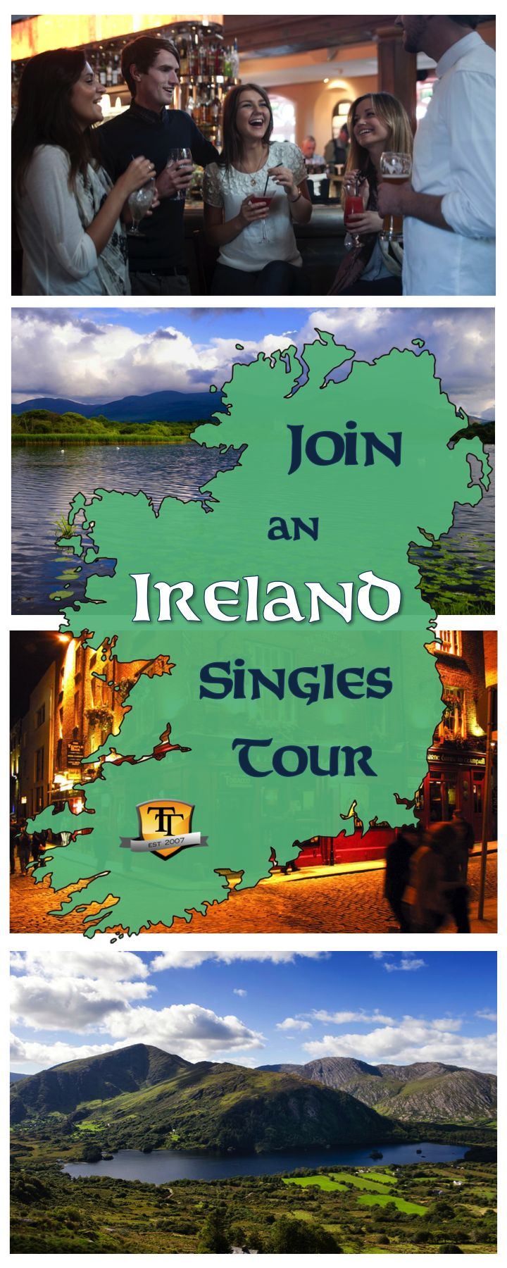 If you're looking for a way to see the best of Ireland with other single travelers, check out our Singles Tour to Ireland. With accommodations, transportation and some day touring included in every package, you'll be able to enjoy tons of free time on your trip while having the necessities all set.