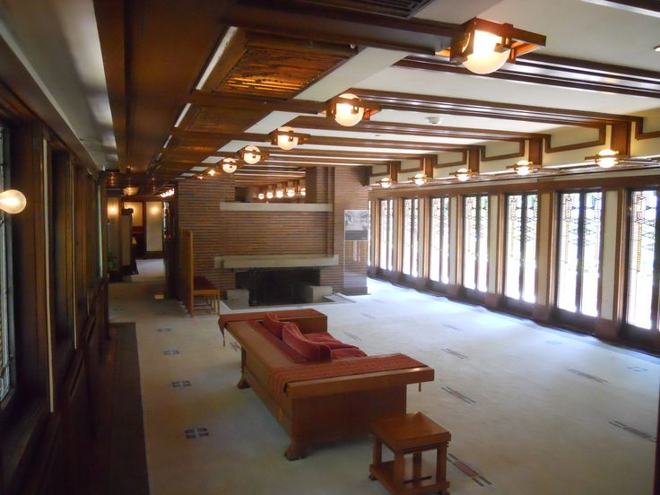 18 best FLW - Hickox Brown House images on Pinterest Brown house