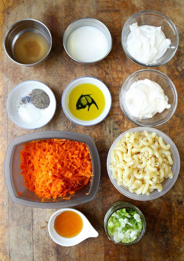 Hawaiian Macaroni Salad Ingredients
