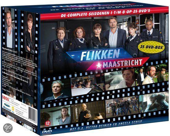 Flikken Maastricht - Seizoen 1 t/m 8