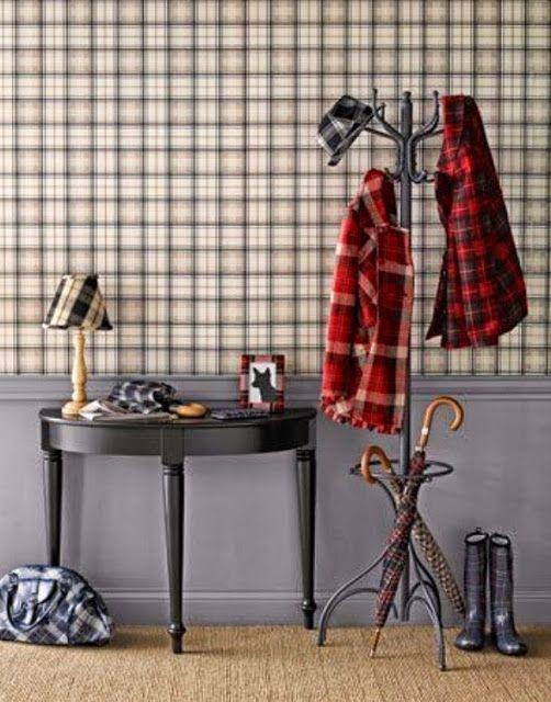 Sweet Living - wnętrza z pasją: Tartan, czyli szkocka krata w naszych wnętrzach!