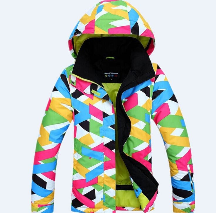 61.66$  Buy now - http://ali6wr.worldwells.pw/go.php?t=32392886717 -  Colour Bar Cheap Ski Clothing Women Snowboard Jackets Winter Skiing Suit Waterproof Windproof Dress Thick Warm Overcoats