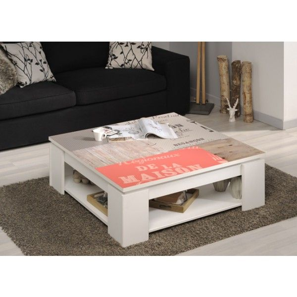 Parisot Quadri Coffee Table - FR
