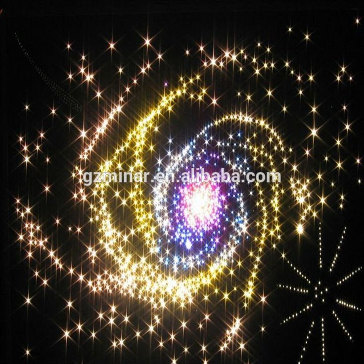how to create star effect on ceiling fibre optics