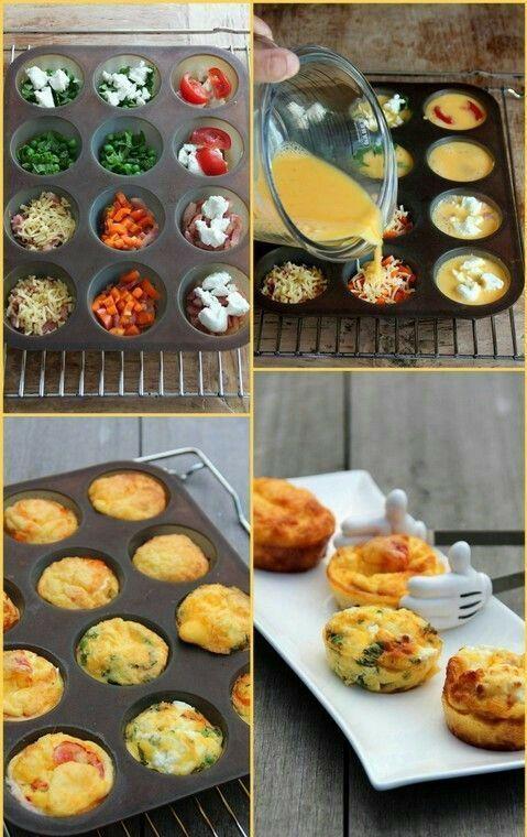 Muffins - slané - vajíčkové :-) Fotka uživatele Dobré rady a nápady.