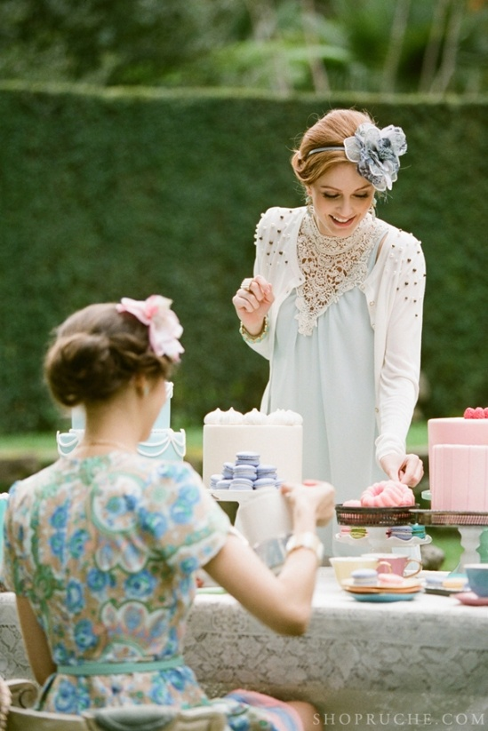 Ruche Tea for Two Spring 2013 by Stephanie Williams » Love Notes Wedding Blog