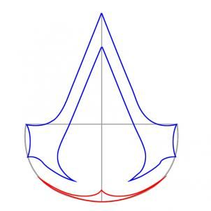 Assassin's Creed symbol deconstruction by DragonArt.com