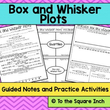17 Best images about Box and Whisker Plots on Pinterest ...