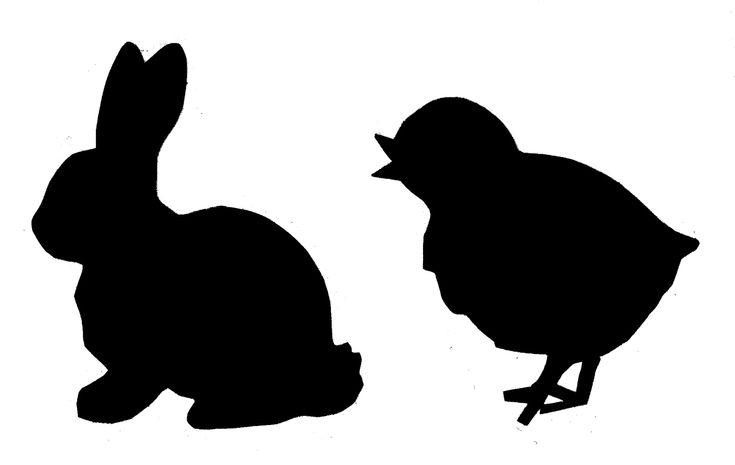 chick silhouette - Google Search