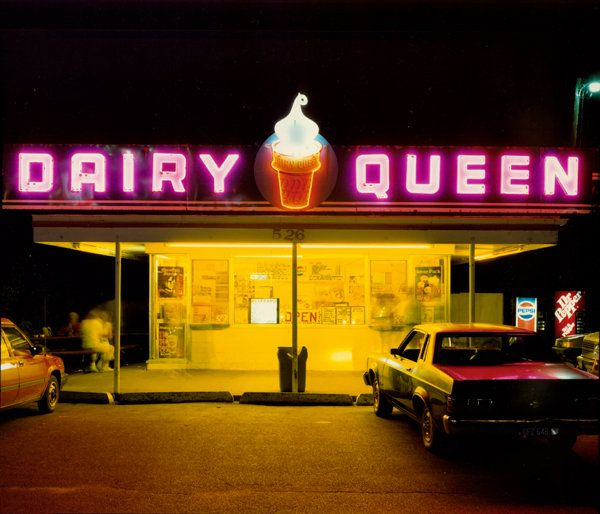 wandrlust:  Dairy Queen, Iowa City, Iowa, 1988 — Jim Dow