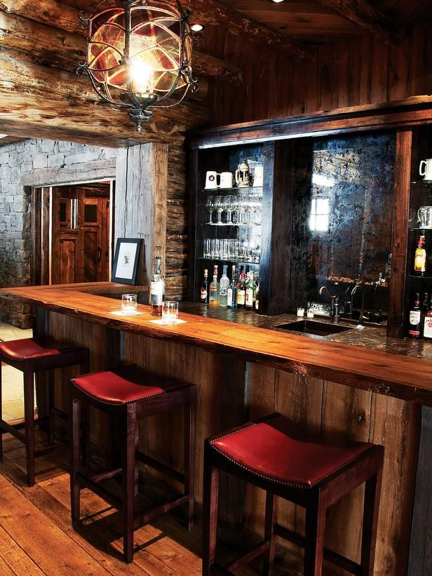 Country Living Rooms From Larry Pearson On Hgtv Home Bar