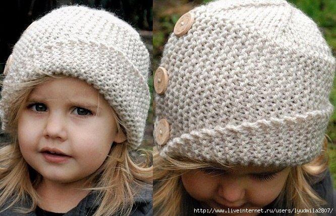 Детская шапочка с отворотом. Обсуждение на LiveInternet - Российский Сервис Онлайн-Дневников