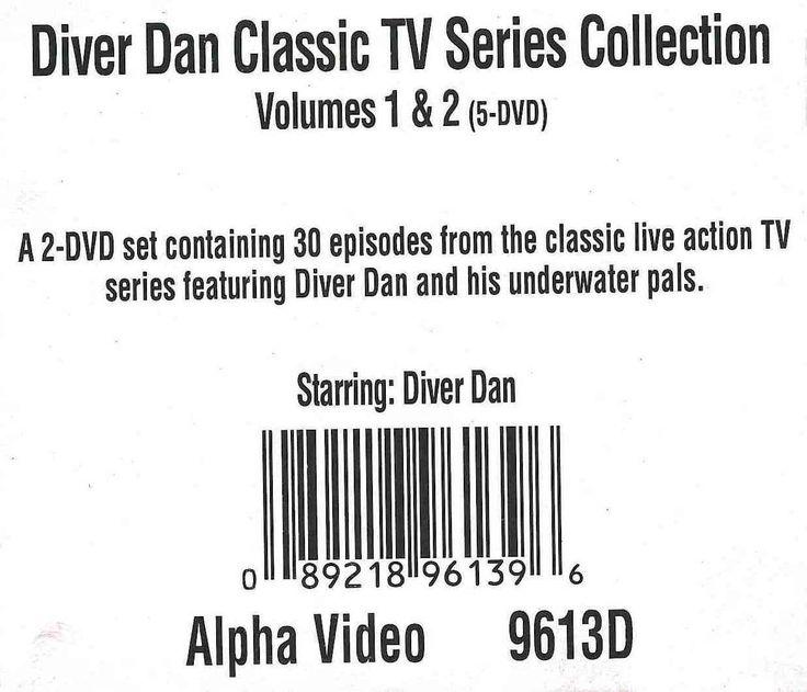 Diver Dan Classic TV Series Collection Vol. 1 & 2