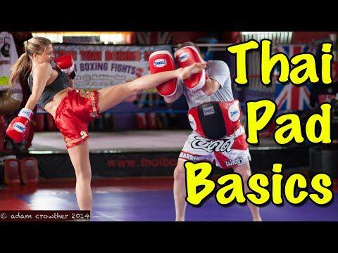 Muay Thai Pad Work Basics - How To Hold Thai Pads   Muay Thai Guy