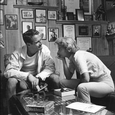 Paul Newman and Joanne Woodward!