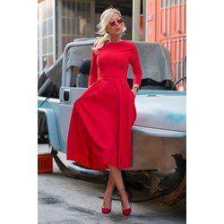 Sukienka Jasmina Red - IVET.PL