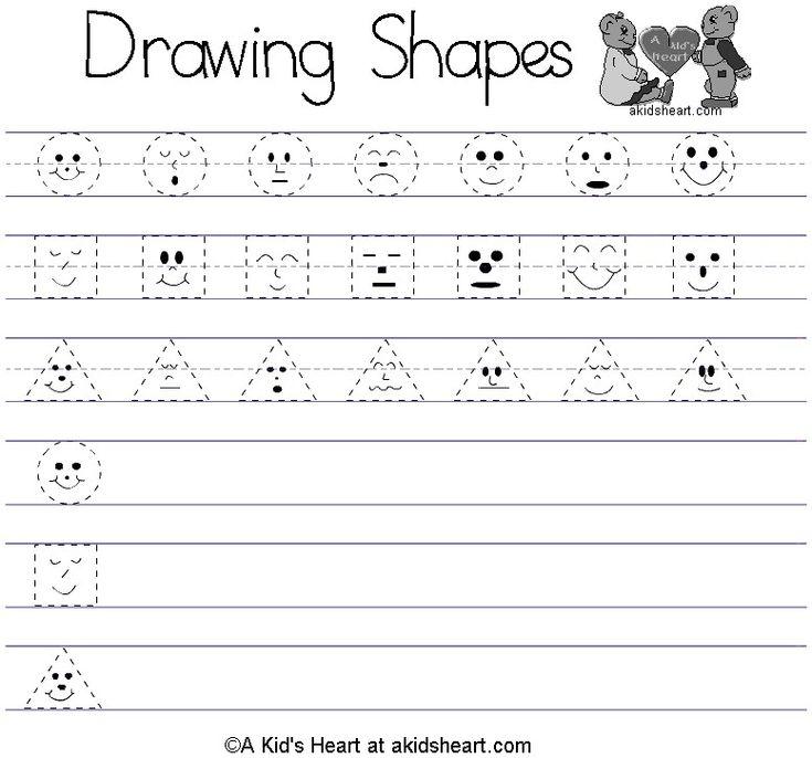 worksheets preschool mreichert kids worksheets - Free Kids Printable Activities