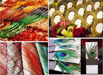 An Indian Summer: India Inspired Wedding #indianwedding #jewelry #indiandecor