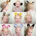 Como hacer unas orejas de fieltro para carnaval: Idea, Diy Crafts, Dresses Up, Animal Ears, Ears Headbands, Baby Projects, Funny Animal, Kid, Animal Headbands
