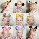 Como hacer unas orejas de fieltro para carnaval: Idea, Dresses Up, Animal Ears, Diy Crafts, Ears Headbands, Baby Projects, Funny Animal, Animal Headbands, Kid
