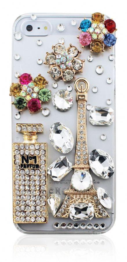Swarovski Paris Case For iPhone 4 / 4S