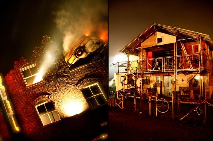 The Motel at Glastonbury Shangri-La 2010  Photo By Benjamin Eagle Photography