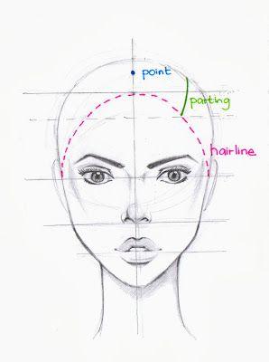 LOVEtHEART - Fashion Illustration - hair tutorial