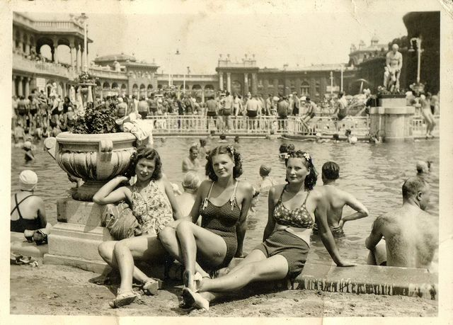 Szechenyi Baths, Budapest c. 1948.