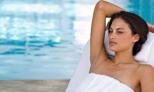 Groupon - $ 75 for a Spa Day with Facial, Foot Soak, Infrared Body Wrap, and Sugar Scrub at Salud! ($300 Value) in Bronx. Groupon deal price: $75