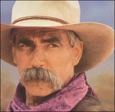 Sam Elliott - that voice! he came in the shop, we talked about the local areas, he called me darlin' and I had no idea who he was till after he left...sweet, sweet moments in time.