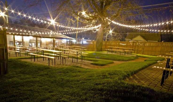 112 best images about biergarten on pinterest restaurant string lights and williamsburg brooklyn for The pharmacy burger parlor beer garden