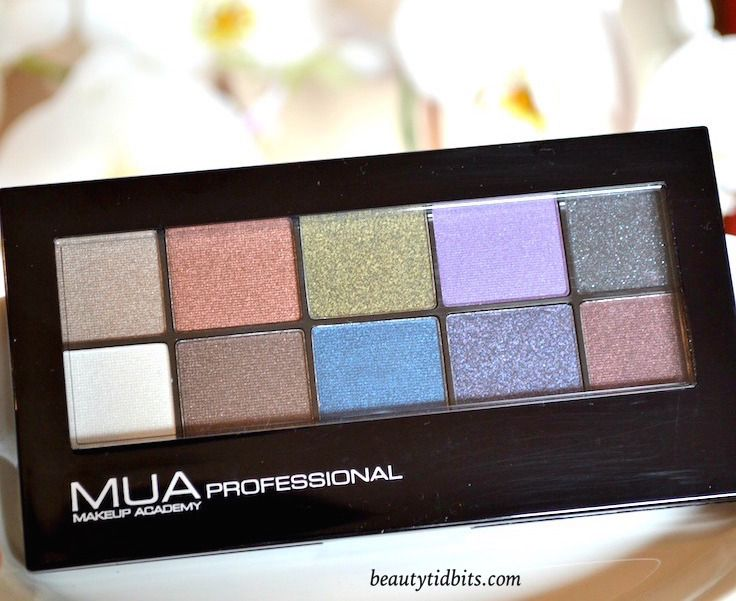 MUA Makeup Academy Metallic Eyeshadow Palette