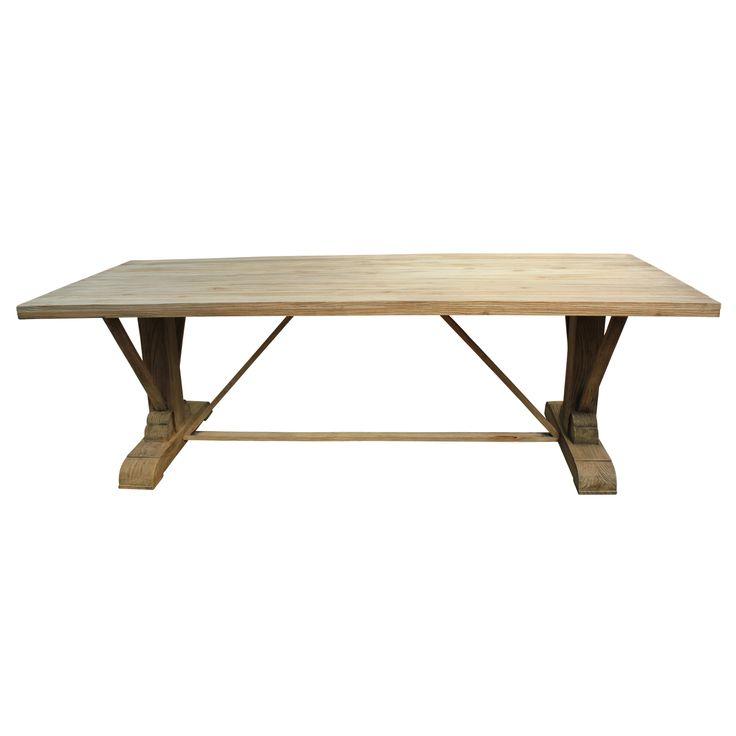 Hampton Outdoor Rectangular Dining Table - T & C Style.