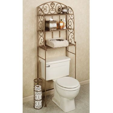Space Saver Bathroom Space Savers And Satin On Pinterest