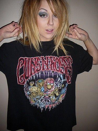 Guns N Roses Vintage Concert T Shirt 91-93 Use Your Illusion Tour - XL | $50