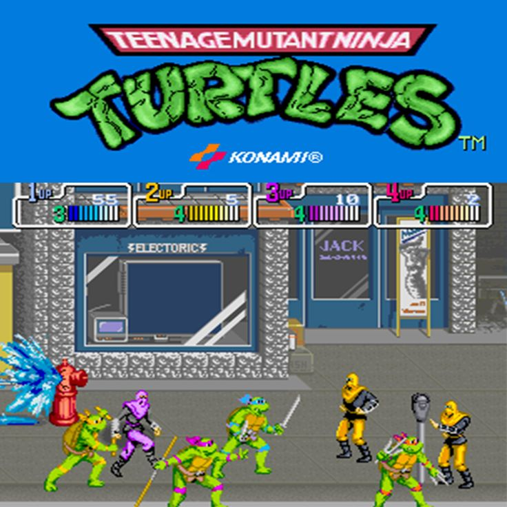 Teenage Mutant Ninja Turtles - Konami 1989  #1UpArcadeBrisbane #1UA #1uparcade #tmnt #turtlepower #teenagemutantninjaturtles #cowabunga #retroarcade #ninjaturtles #gaming #interactivemuseum #morningside #brisbane #australia